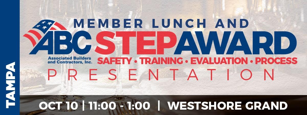Membership Lunch & STEP Award Presentation | Associated