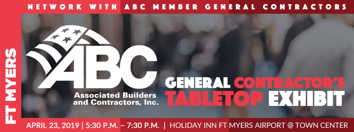 Fort Myers - GC Tabletop | Associated Builders and Contractors